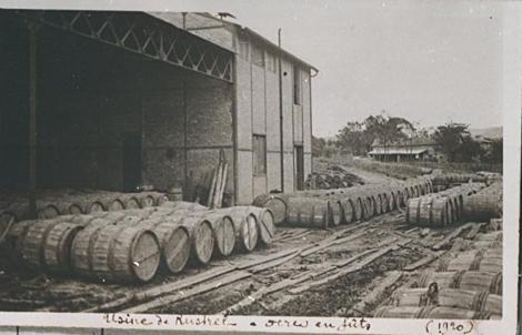 Les usines d'ocres à Rustrel