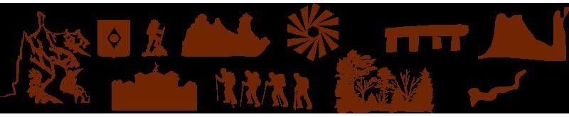 Logo de l'association du Colorado de Rustrel